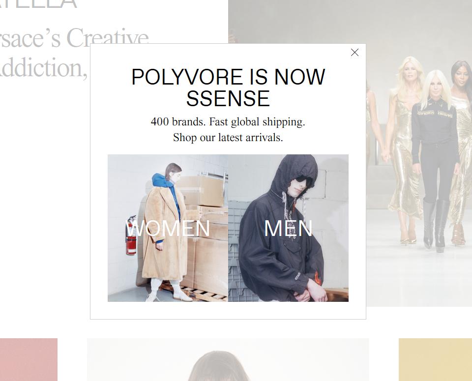Polyvore geschlossen